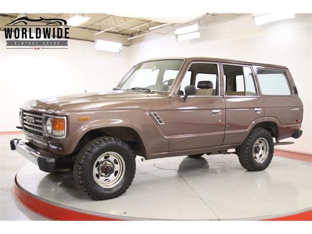1985 Toyota Land Cruiser FJ