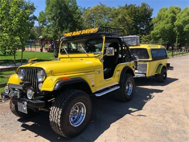 1975 Jeep CJ5 (CC-1388299) for sale in Cadillac, Michigan