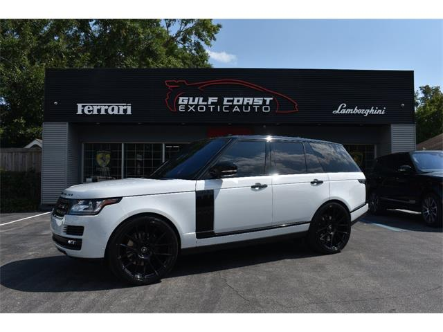 2017 Land Rover Range Rover (CC-1380084) for sale in Biloxi, Mississippi