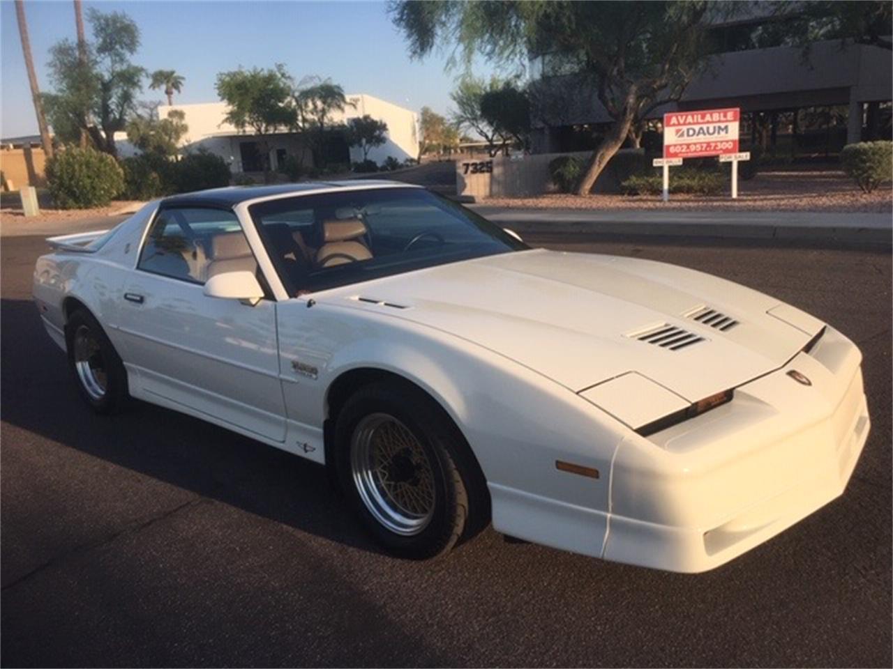 1989 Pontiac Firebird Trans Am Turbo Indy Pace Car Edition (CC-1388428) for sale in Scottsdale, Arizona