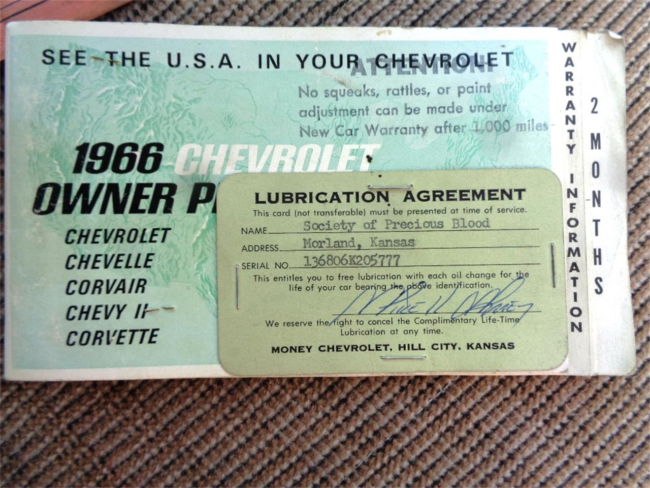 1966 Chevrolet El Camino (CC-1388431) for sale in GREAT BEND, Kansas