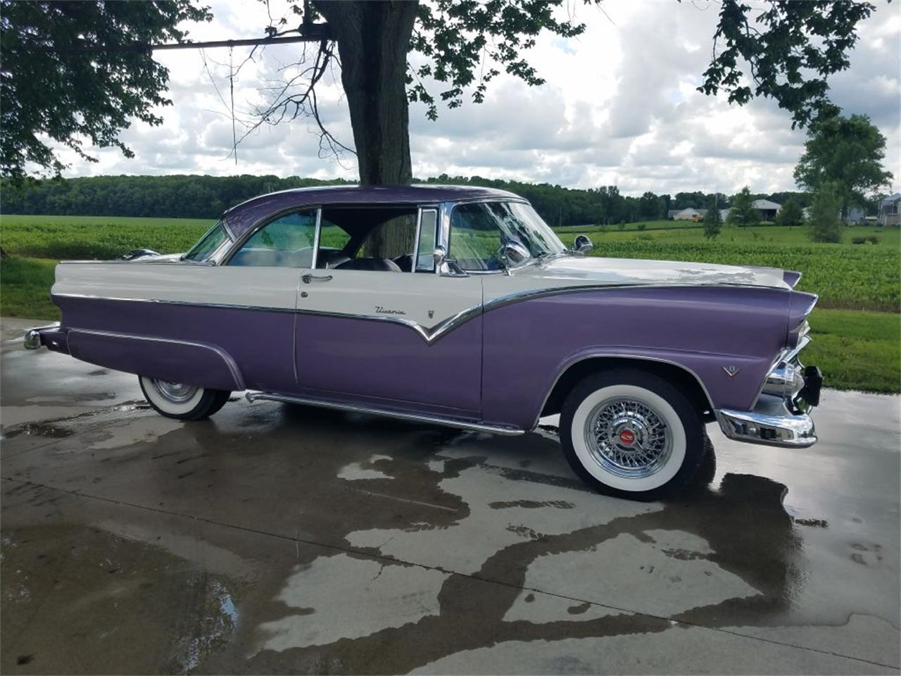 1955 Ford Victoria (CC-1388574) for sale in West Pittston, Pennsylvania