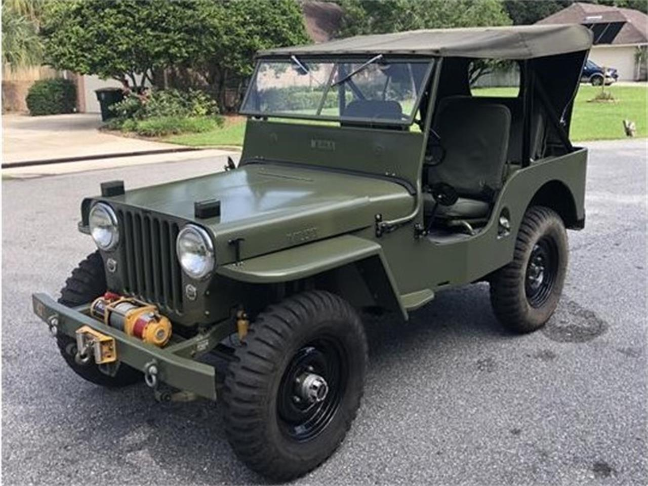 1947 Willys Jeep (CC-1388737) for sale in JACKSONVILLE, Florida
