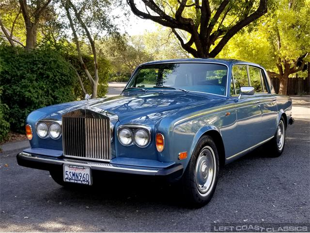 1979 Rolls-Royce Silver Shadow II (CC-1380887) for sale in Sonoma, California