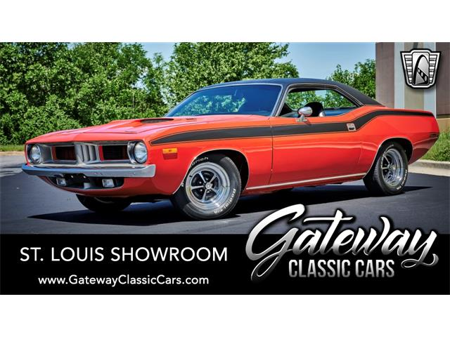 1972 Plymouth Cuda (CC-1389024) for sale in O'Fallon, Illinois