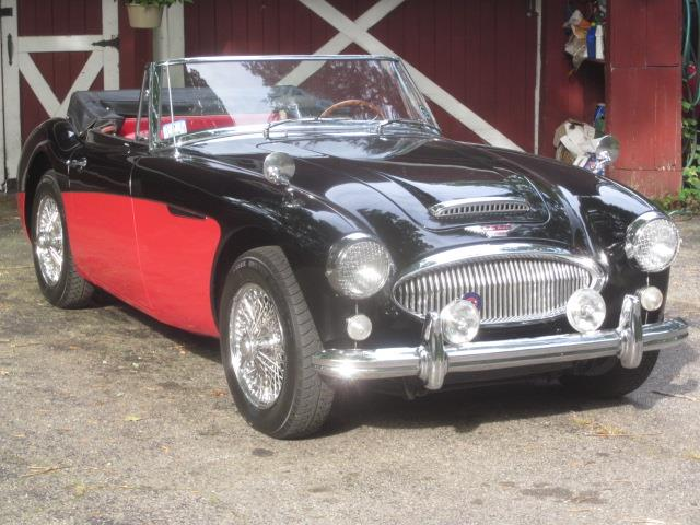 1965 Austin-Healey 3000 Mark III BJ8