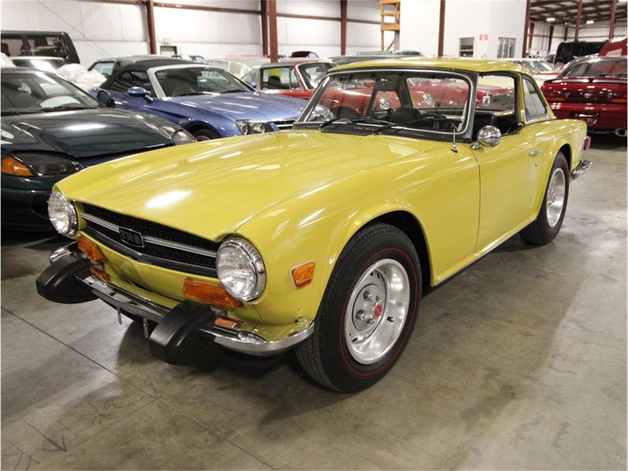 1974 Triumph TR6 (CC-1389098) for sale in Christiansburg, Virginia