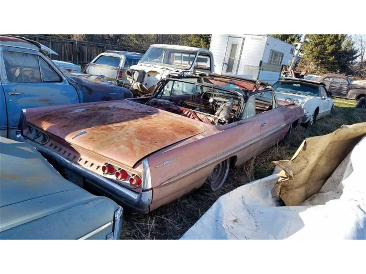 1961 Pontiac Bonneville (CC-1389194) for sale in Cadillac, Michigan