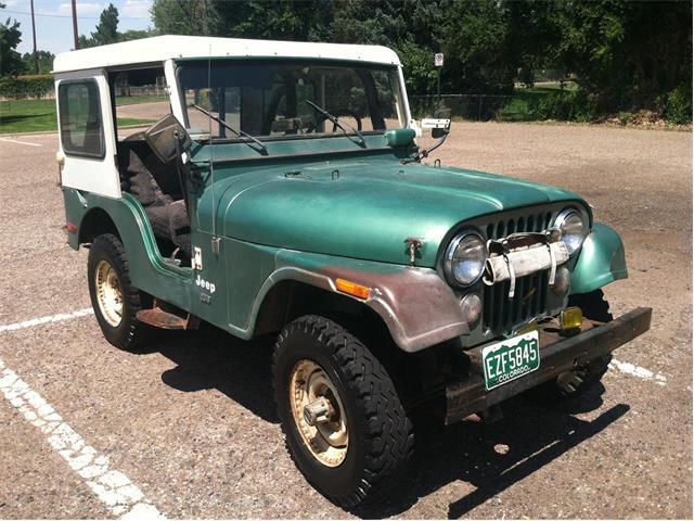 1975 Jeep CJ5 (CC-1389328) for sale in Pueblo, Colorado