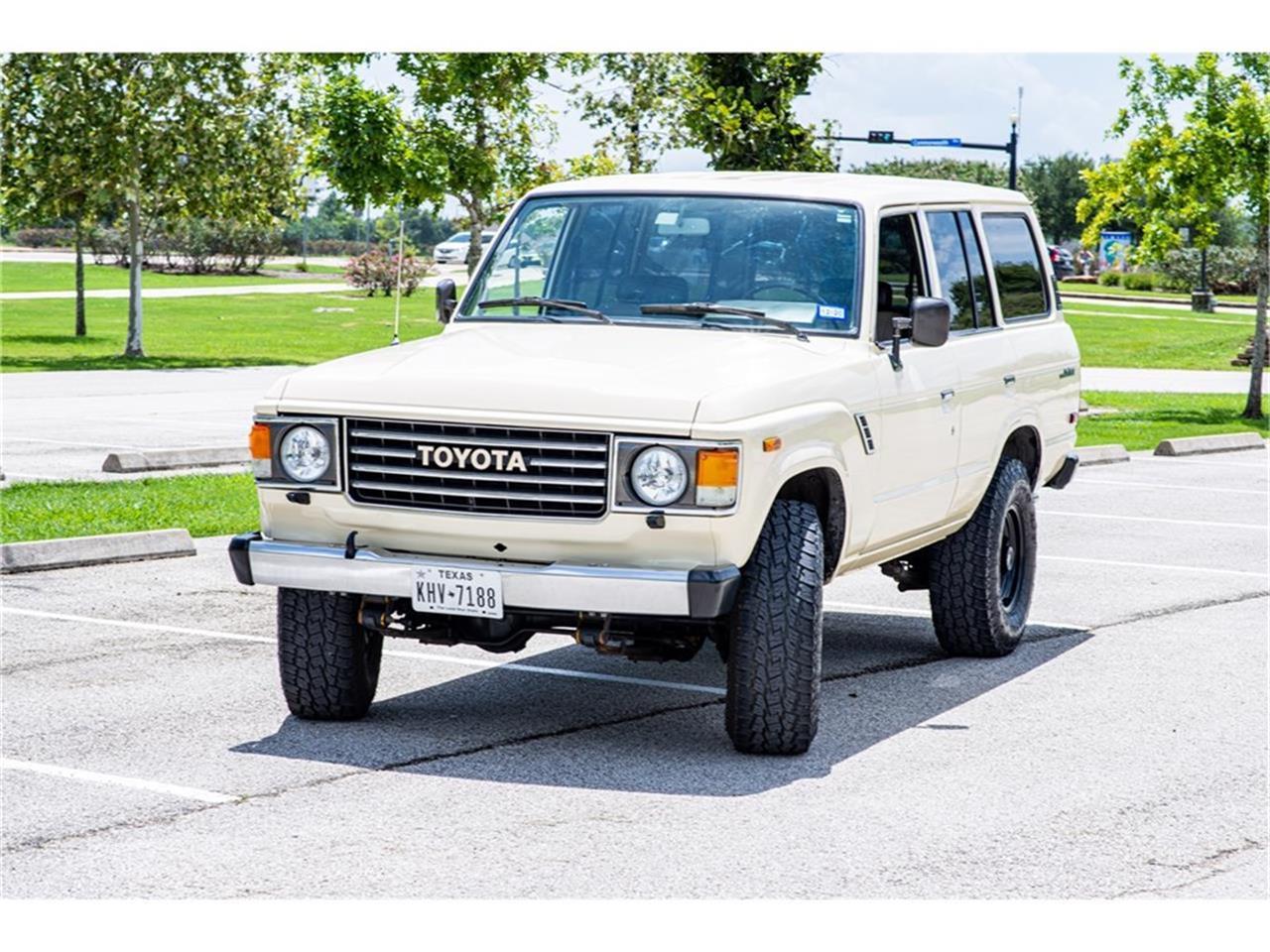 1987 Toyota Land Cruiser FJ (CC-1389513) for sale in Sugarland, Texas