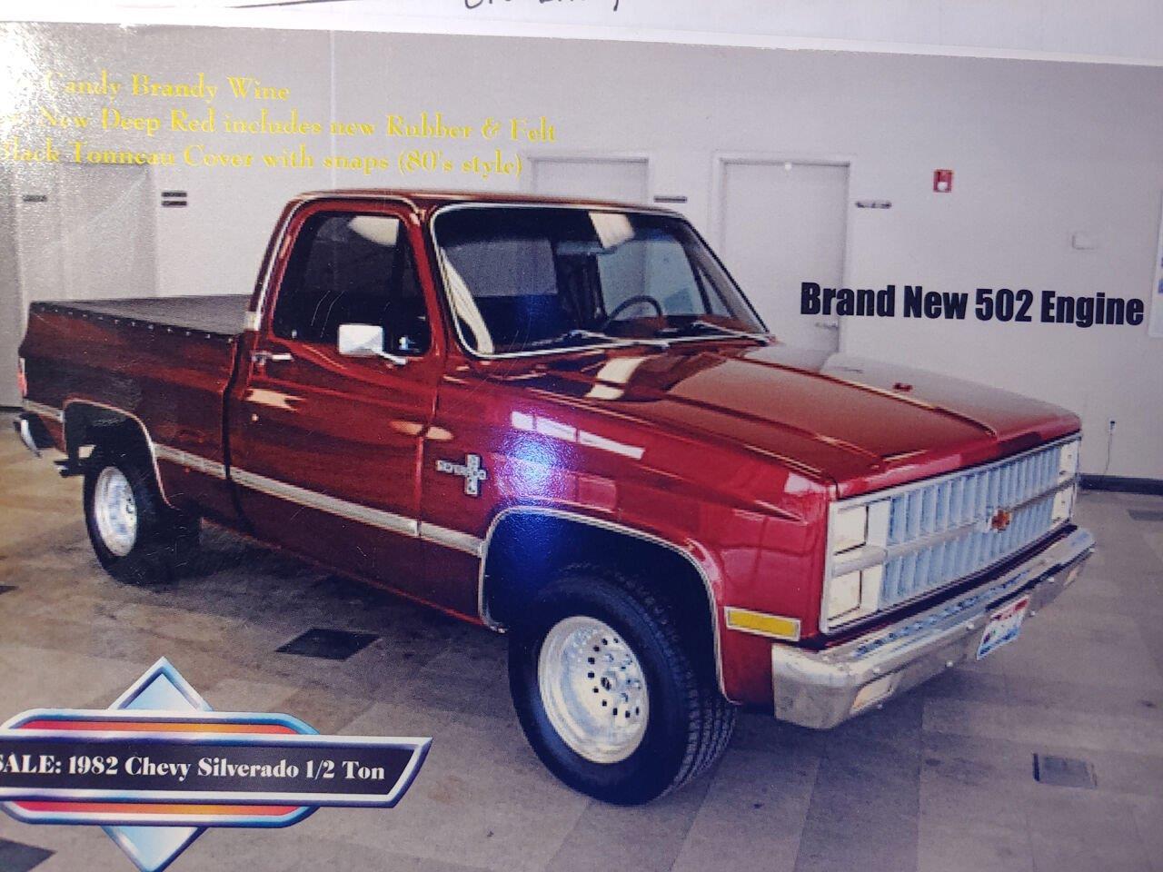 1982 Chevrolet Silverado (CC-1389525) for sale in San Luis Obispo, California