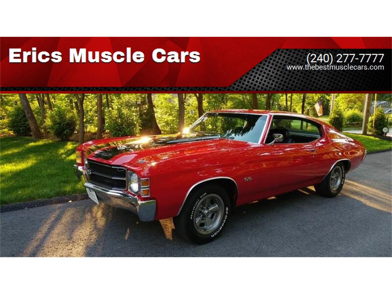 1971 Chevrolet Chevelle SS (CC-1389526) for sale in Clarksburg, Maryland