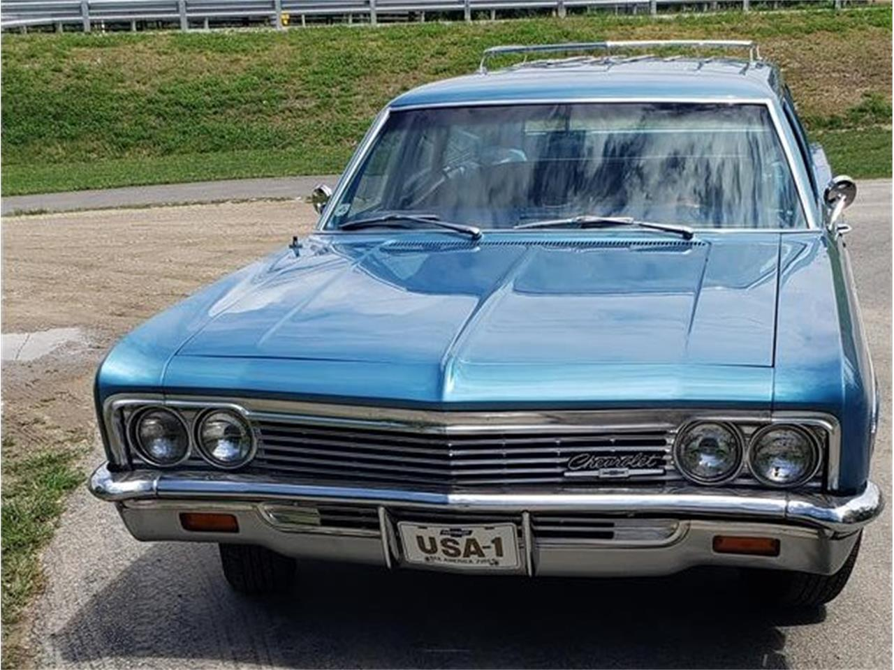 1966 Chevrolet Bel Air Wagon (CC-1389607) for sale in Yorktown, Indiana
