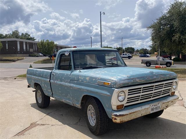 1969 Ford 100 (CC-1389615) for sale in San Angelo, Texas