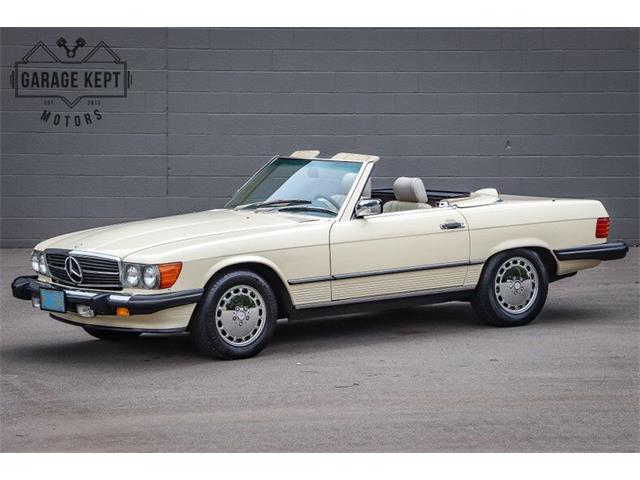 1987 Mercedes-Benz 560 (CC-1389695) for sale in Grand Rapids, Michigan