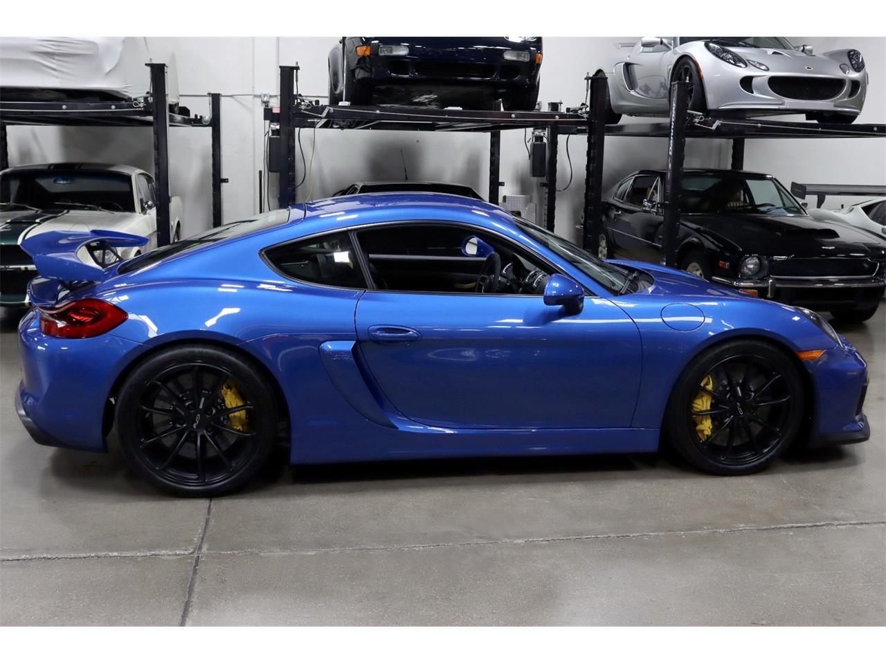 2016 Porsche Cayman (CC-1389755) for sale in San Carlos, California