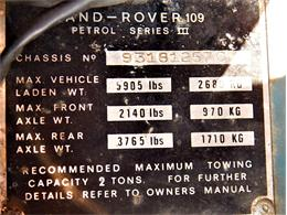 1978 Land Rover Series III (CC-1389911) for sale in DURANT, Oklahoma