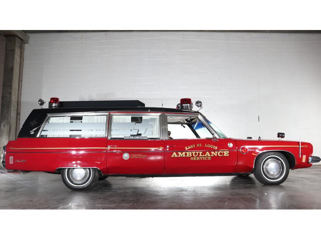 1973 Oldsmobile Ambulance