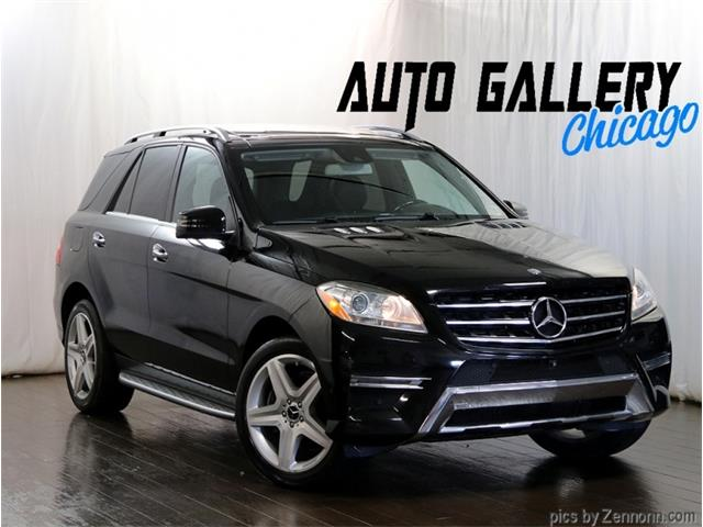 2015 Mercedes-Benz M-Class (CC-1391110) for sale in Addison, Illinois