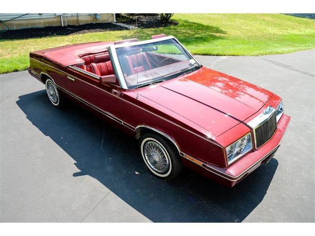 1982 Chrysler LeBaron (CC-1390126) for sale in Saratoga Springs, New York