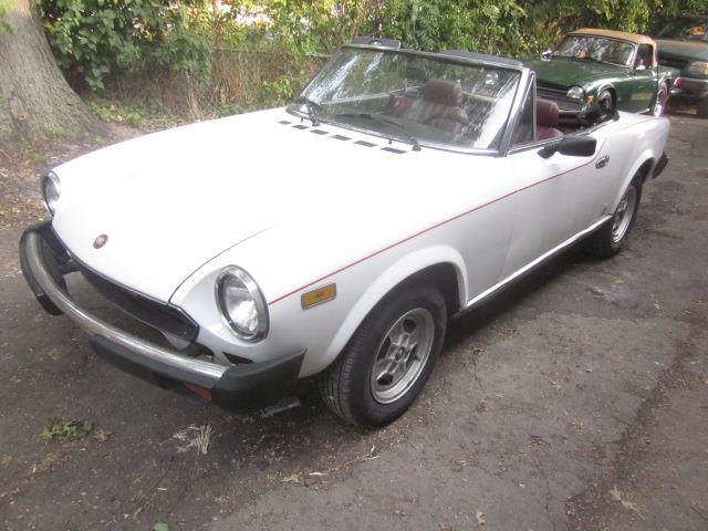 1981 Fiat Spider (CC-1391274) for sale in Stratford, Connecticut