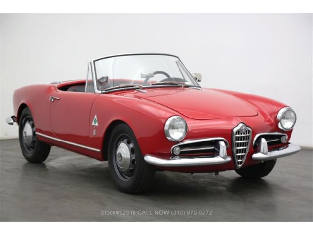 1957 Alfa Romeo Giulietta Spider (CC-1391319) for sale in Beverly Hills, California