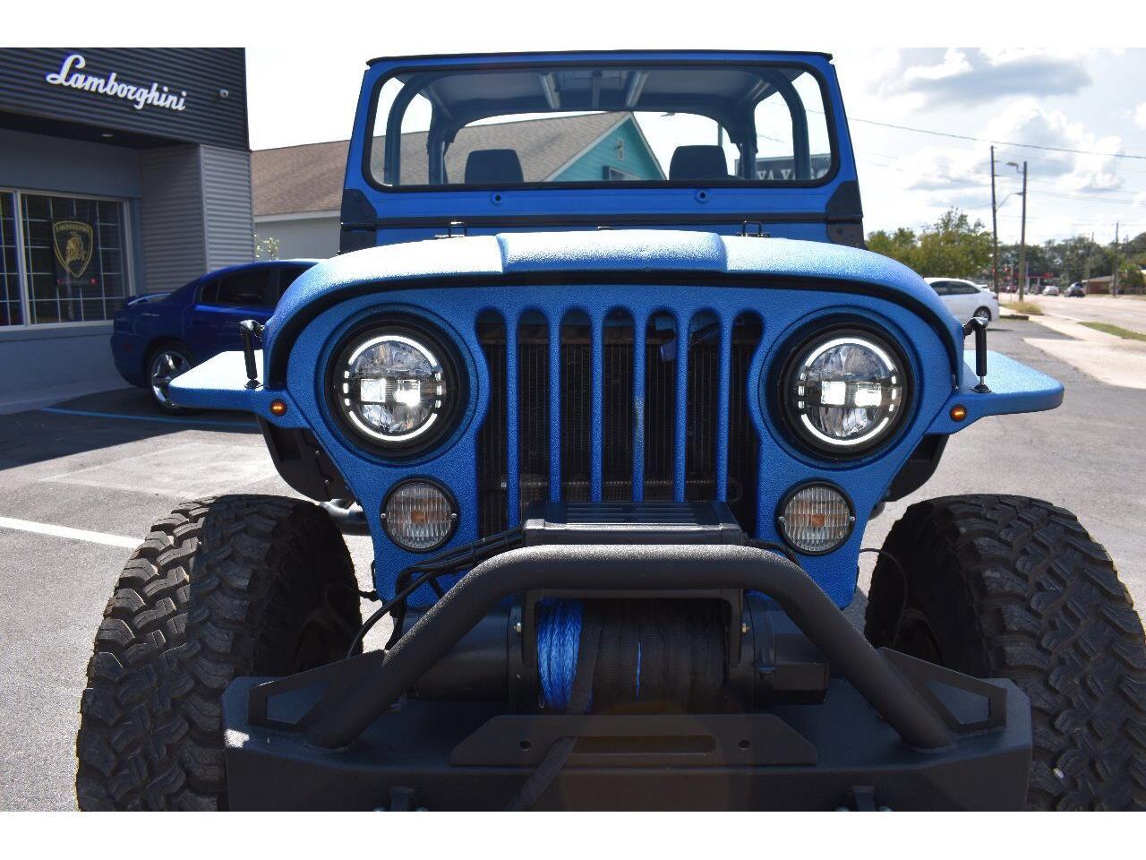1984 Jeep CJ7 (CC-1391396) for sale in Biloxi, Mississippi