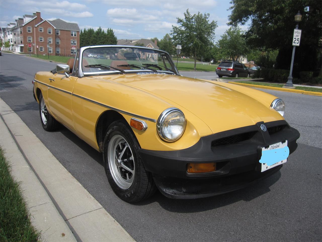 1977 MG MGB (CC-1391467) for sale in Carlisle, Pennsylvania