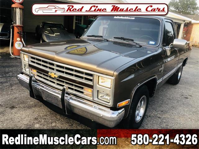 1985 Chevrolet C/K 10 (CC-1391484) for sale in Wilson, Oklahoma