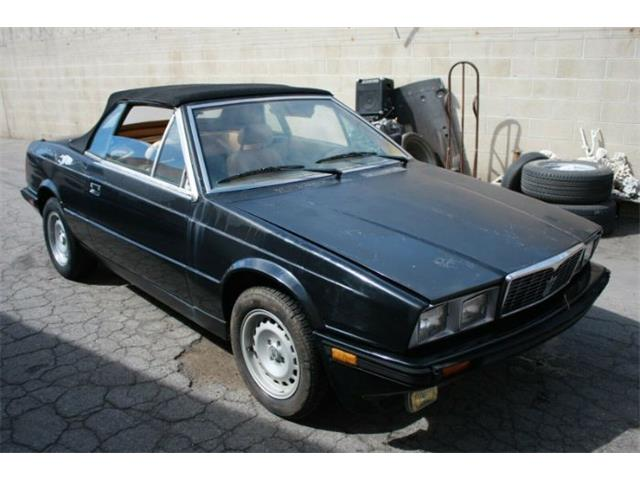 1986 Maserati Spyder (CC-1390160) for sale in Cadillac, Michigan