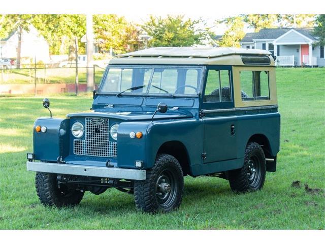 1965 Land Rover Series IIA (CC-1391679) for sale in richmond, Virginia