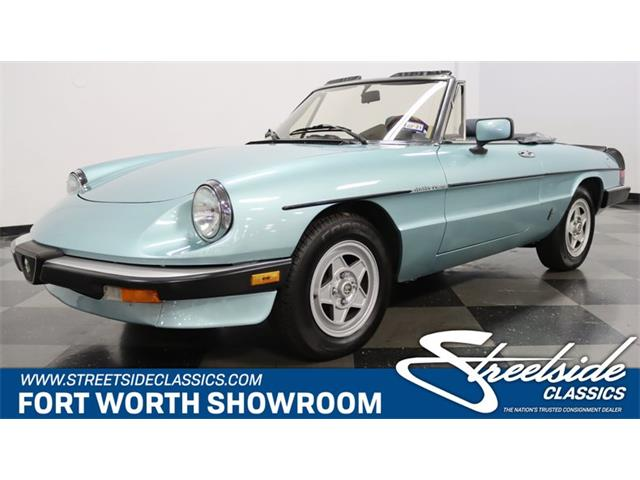 1984 Alfa Romeo Spider (CC-1391873) for sale in Ft Worth, Texas