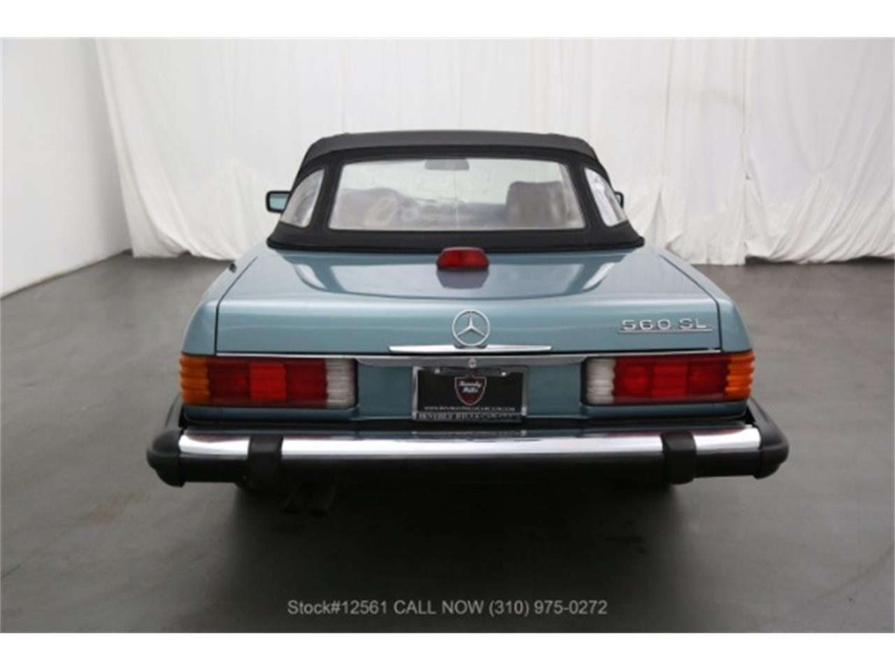 1987 Mercedes-Benz 560SL (CC-1391898) for sale in Beverly Hills, California
