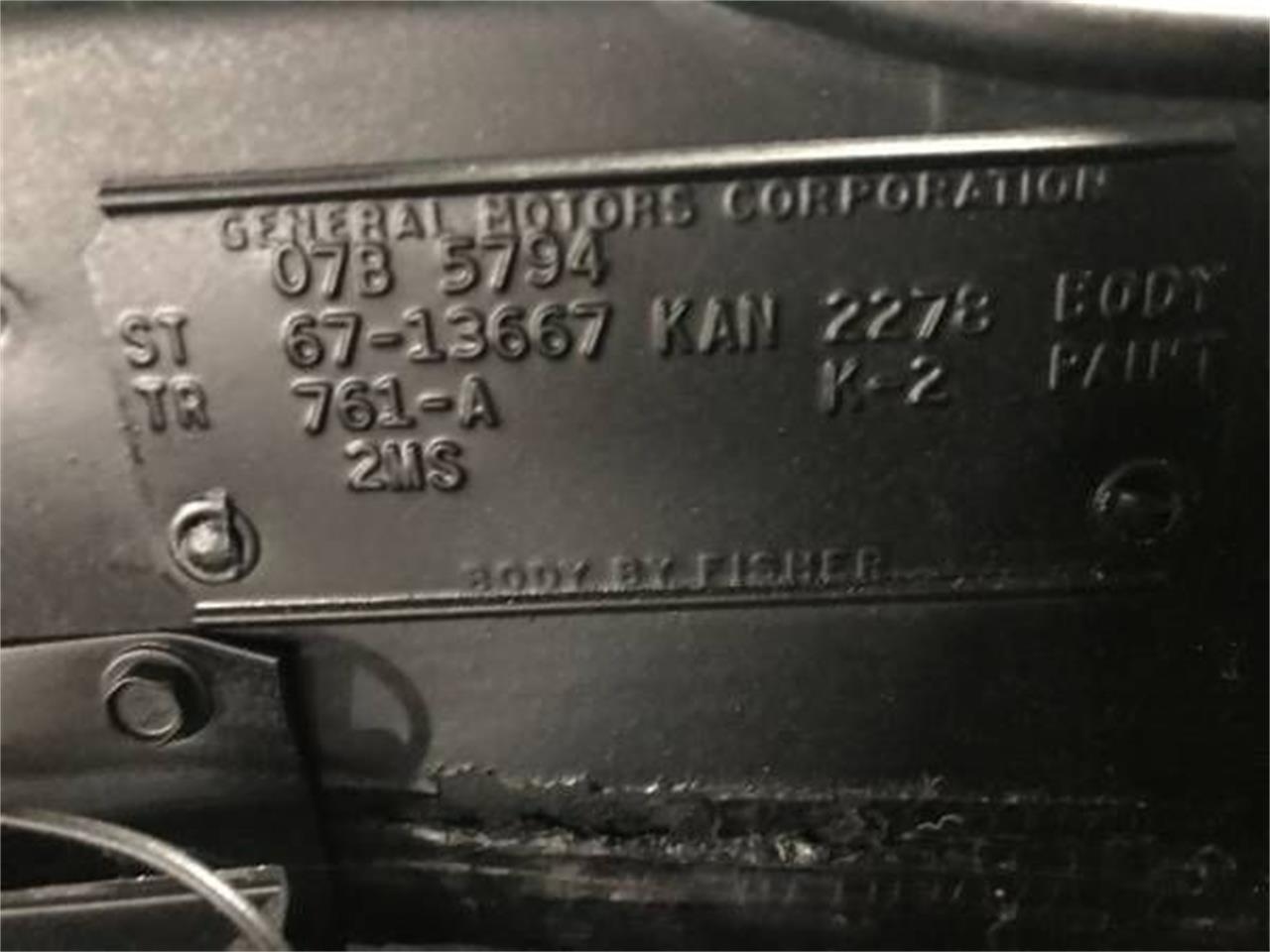 1967 Chevrolet Chevelle (CC-1391968) for sale in Cadillac, Michigan