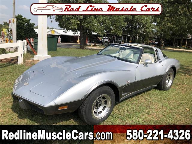 1978 Chevrolet Corvette (CC-1392098) for sale in Wilson, Oklahoma