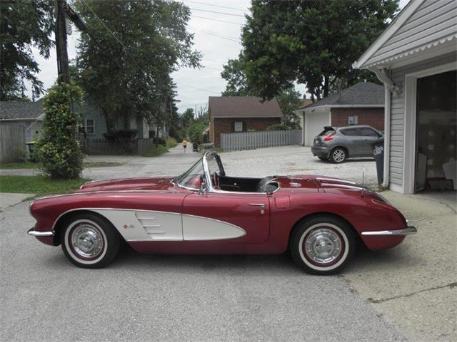 1958 Chevrolet Corvette (CC-1392121) for sale in BEECH GROVE, Indiana