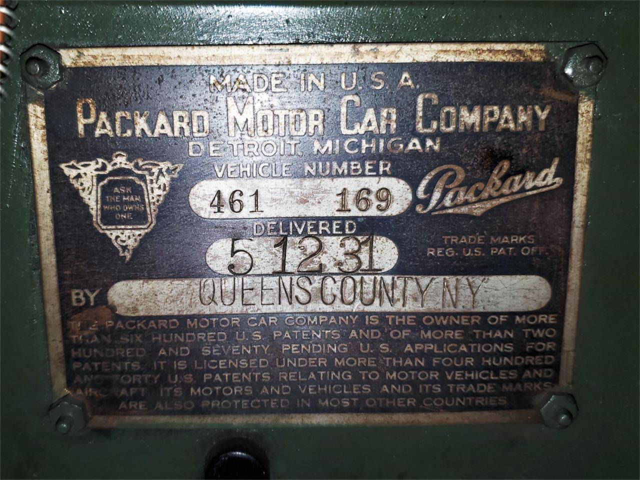 1931 Packard 833 (CC-1392149) for sale in Macedonia, Ohio