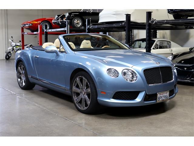 2013 Bentley Continental (CC-1392188) for sale in San Carlos, California
