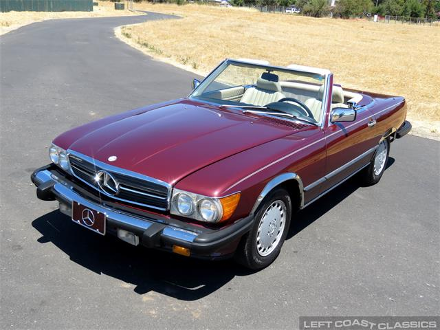1987 Mercedes-Benz 560SL (CC-1392284) for sale in Sonoma, California