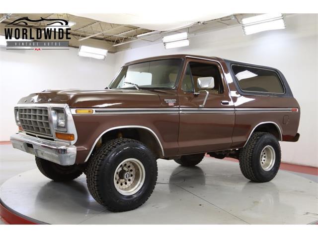 1979 Ford Bronco (CC-1392308) for sale in Denver , Colorado