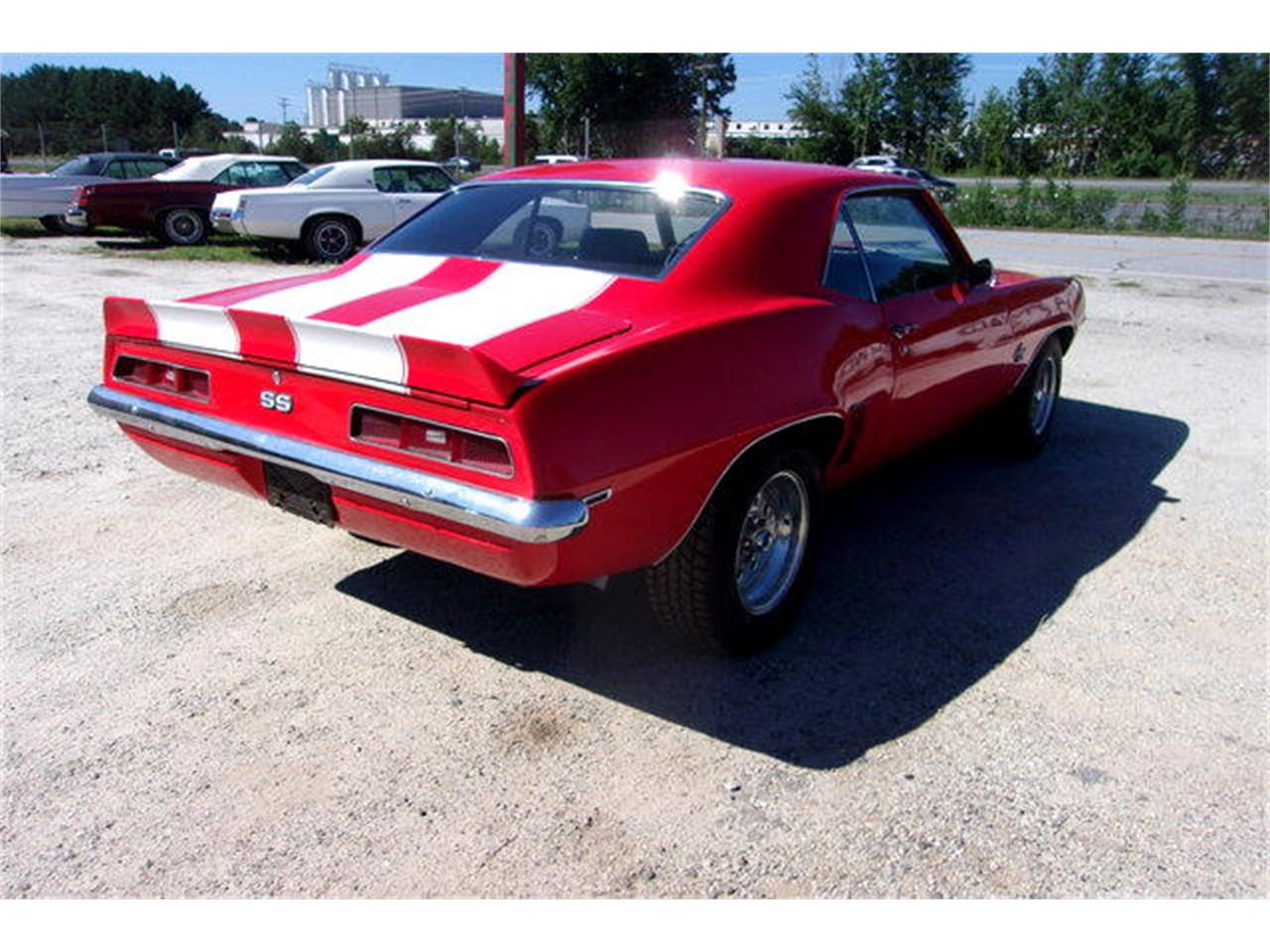 1969 Chevrolet Camaro SS (CC-1392406) for sale in Gray Court, South Carolina