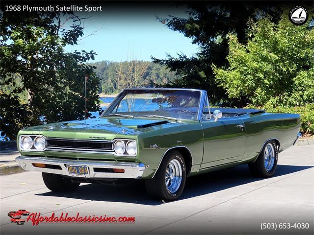 1968 Plymouth Satellite (CC-1392435) for sale in Gladstone, Oregon