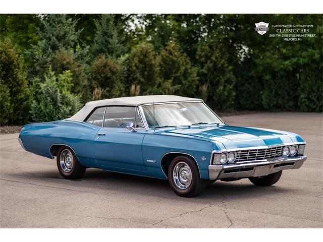 1967 Chevrolet Impala (CC-1392576) for sale in Milford, Michigan