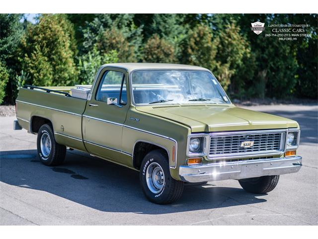 1974 Chevrolet Custom 10 (CC-1392578) for sale in Milford, Michigan