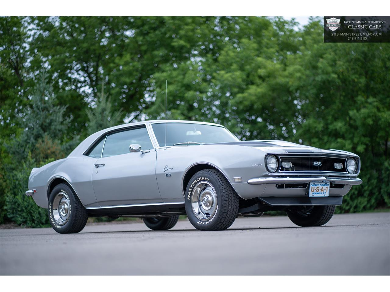 1968 Chevrolet Camaro SS (CC-1392582) for sale in Milford, Michigan