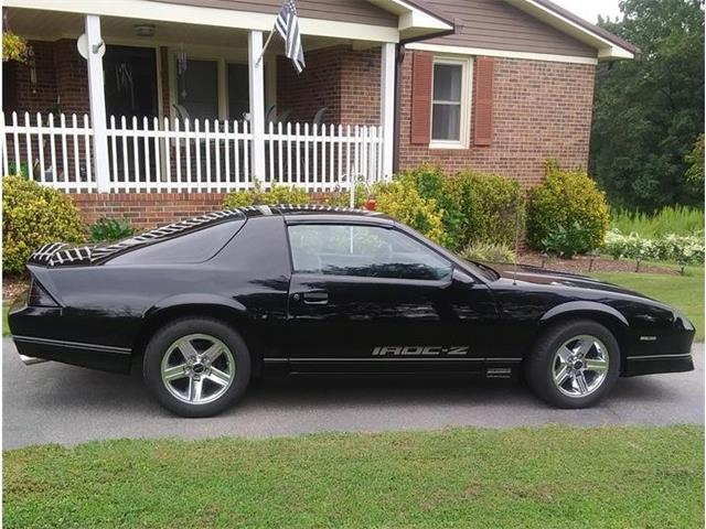 1987 Chevrolet Camaro IROC Z28 (CC-1392619) for sale in Seneca, South Carolina