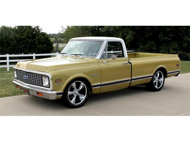 1971 Chevrolet 1/2-Ton Pickup (CC-1392655) for sale in okc, Oklahoma