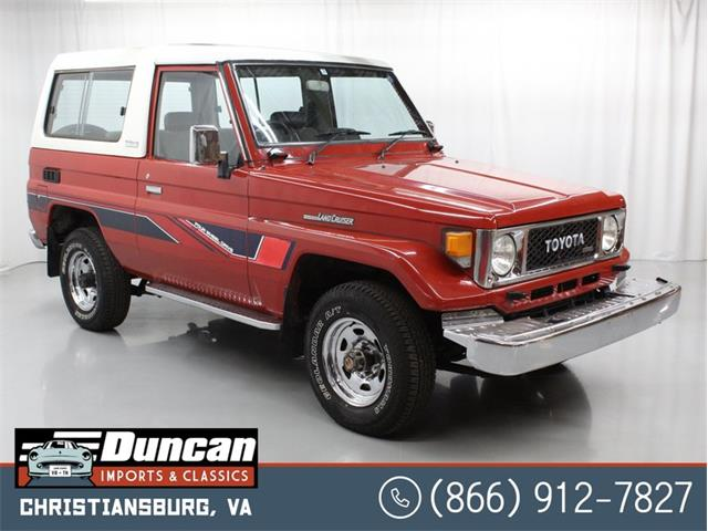 1984 Toyota Land Cruiser FJ (CC-1392694) for sale in Christiansburg, Virginia