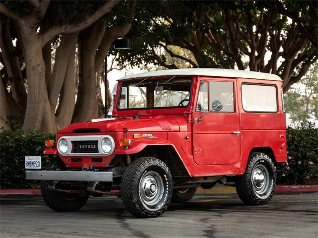 1972 Toyota FJ Cruiser (CC-1390286) for sale in Marina Del Rey, California