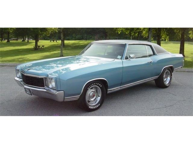 1972 Chevrolet Monte Carlo (CC-1392939) for sale in Hendersonville, Tennessee